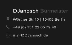 DJanosch Mail Contact