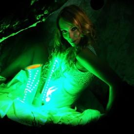 SAXY VIBES - DJanosch mit LED-Saxophone
